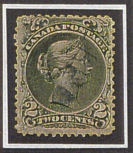 Большая королева на бумаге верже.1868г.