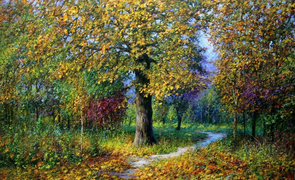 Palette of autumn