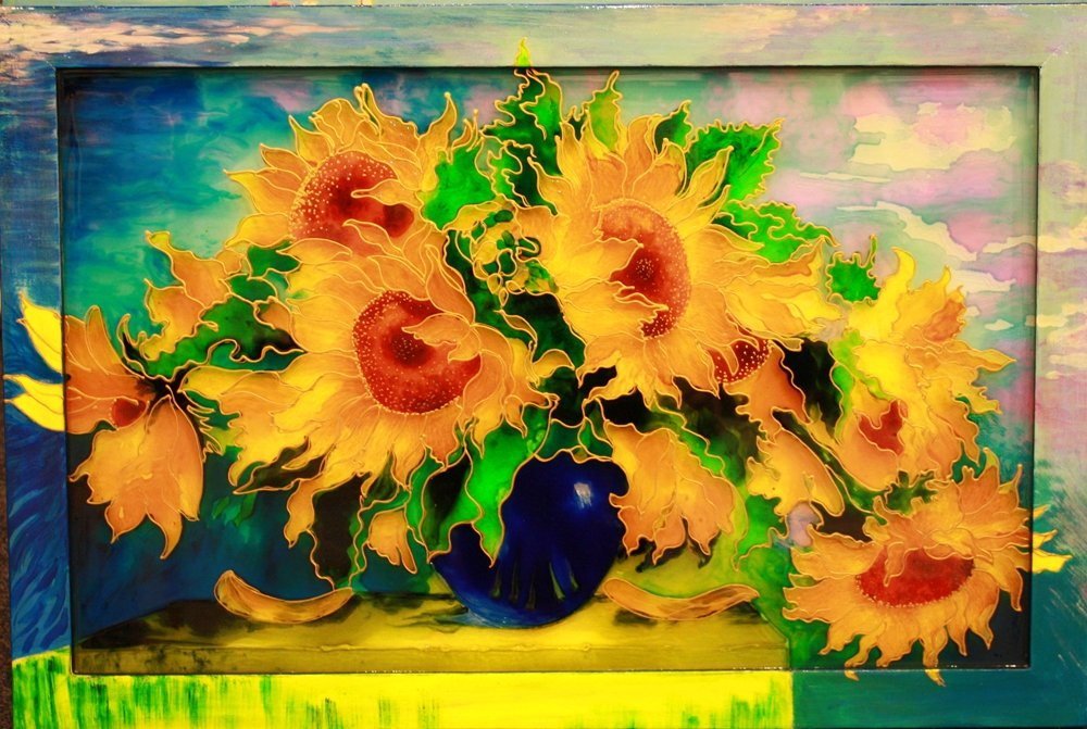 Sunflower Still Life