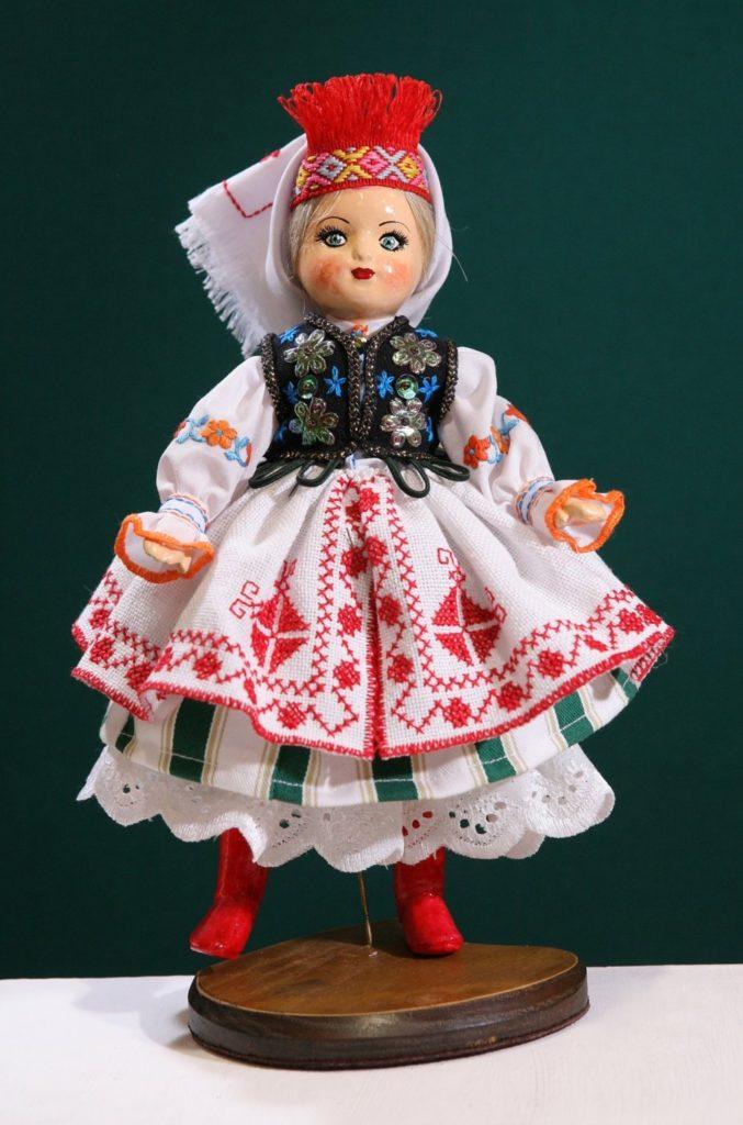 Худ. лялька Роксолана (львівський нар. костюм)