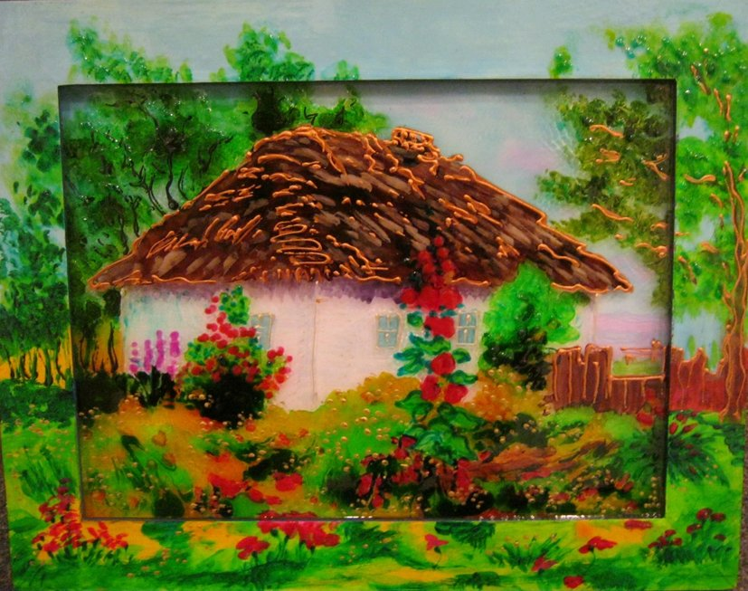 The Ukrainian hut
