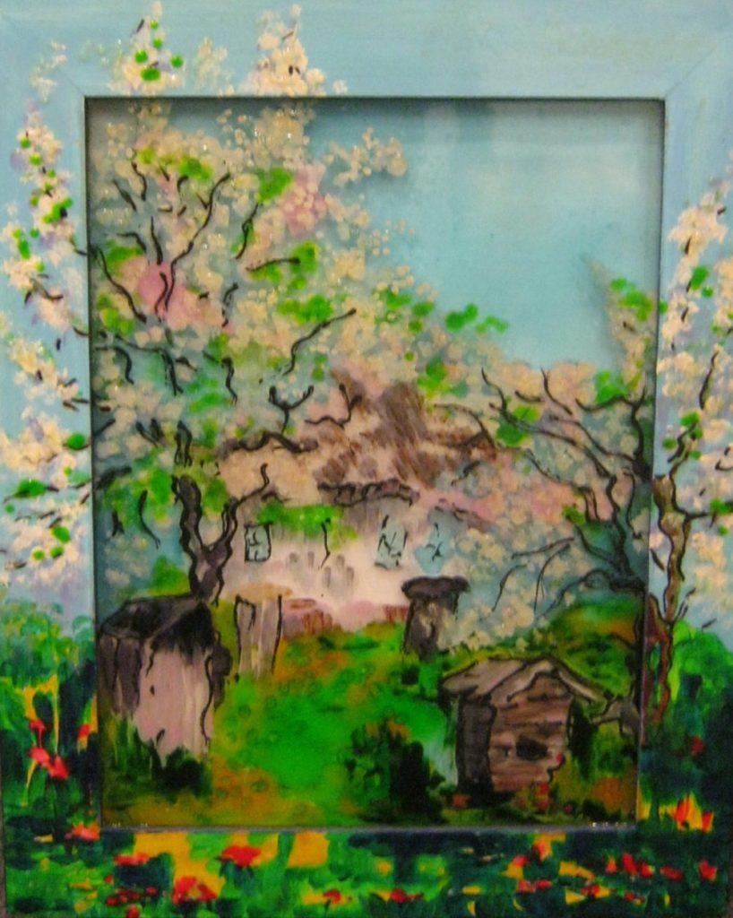 Весна на Украине