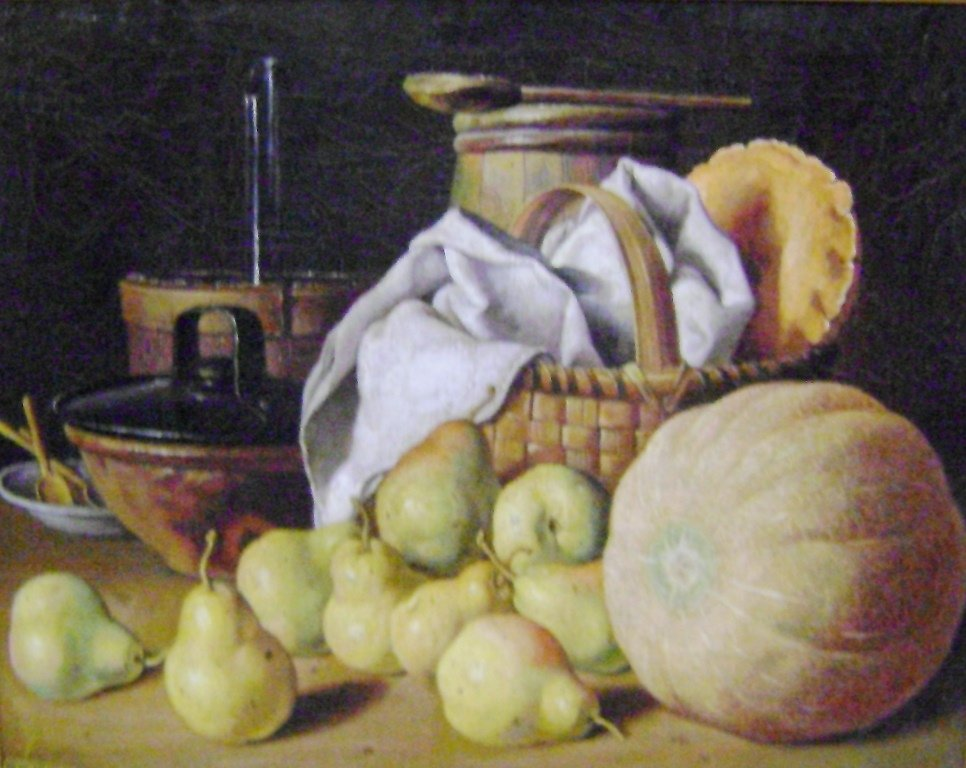 Pumpkin and pears