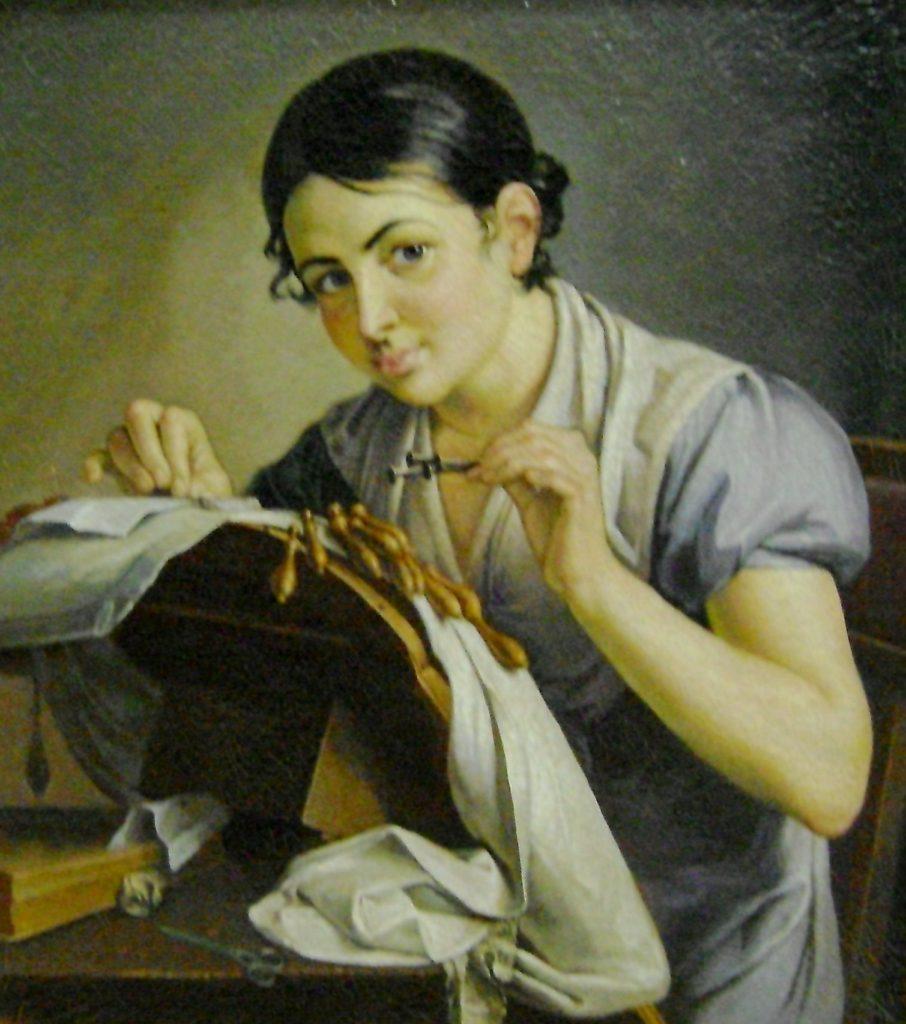 Lace-maker