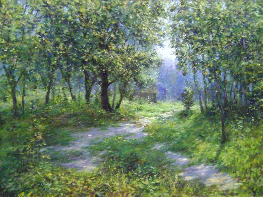 Path to the garden