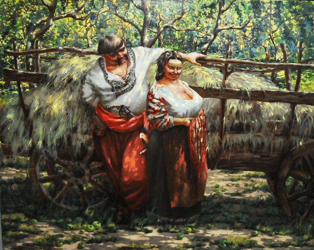 У яблуневому садочку