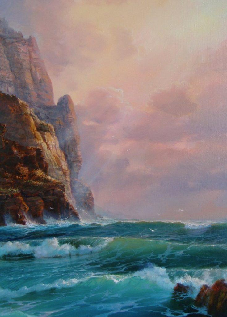 Море і скелі