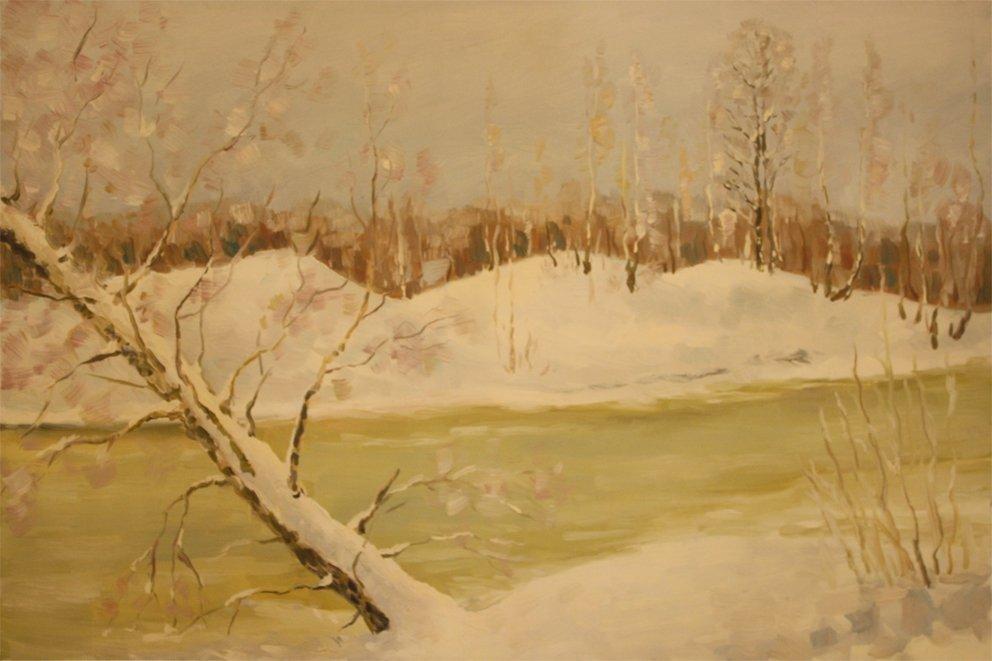 Зимовий сон річки
