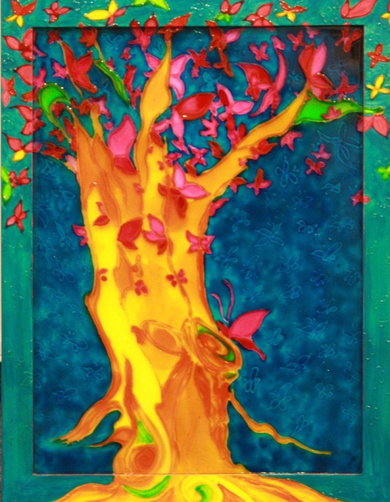 Дерево-сонце