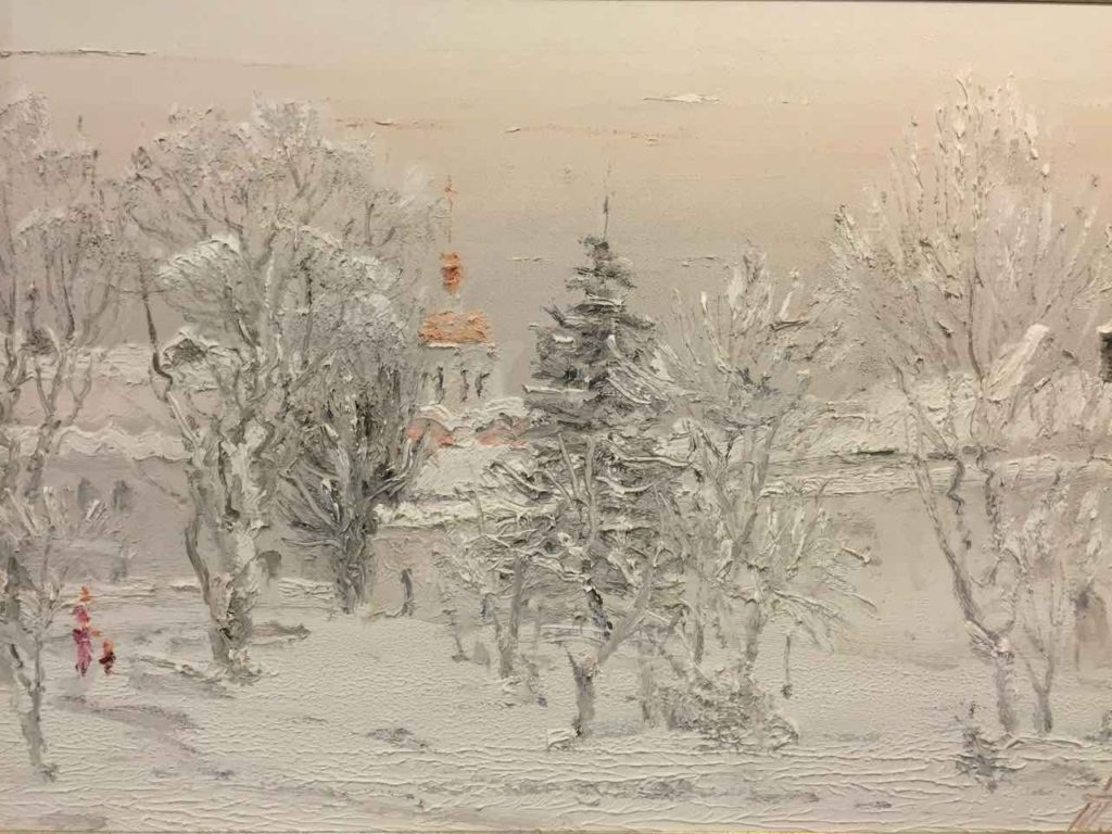 Winter in Lavra