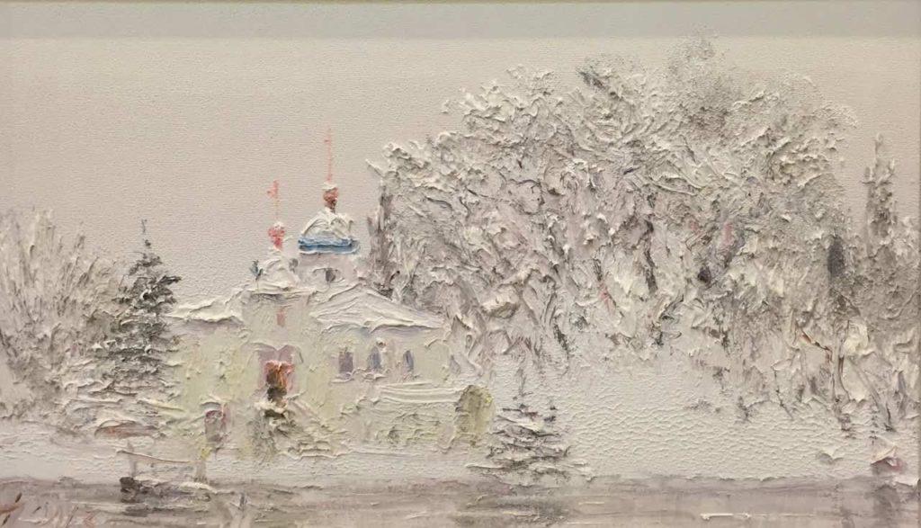 Зима, церковище