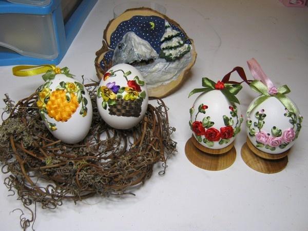 Вишивка по яйцю