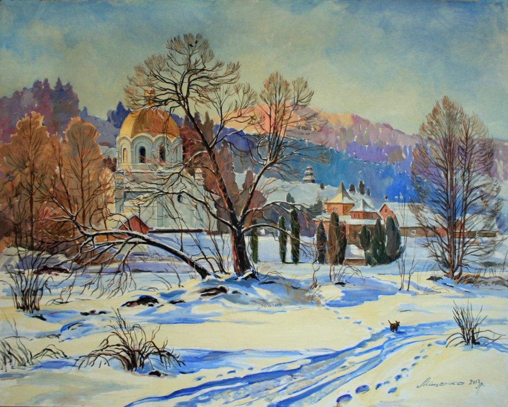 Зима в Славському