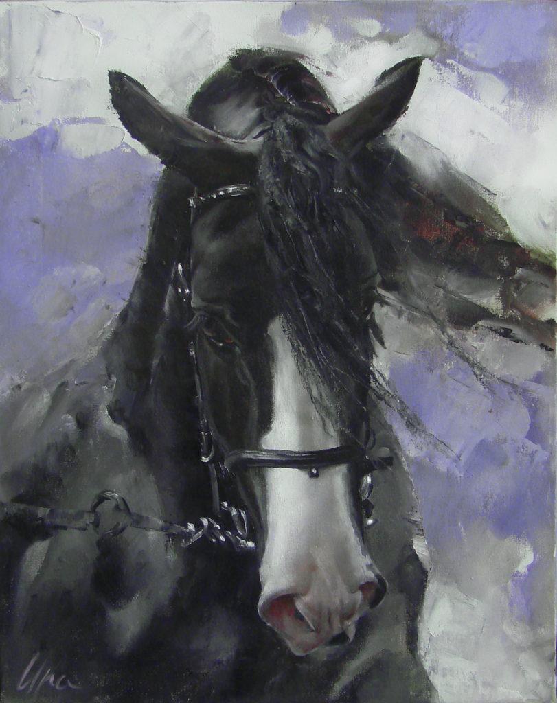 Етюд коня (2)