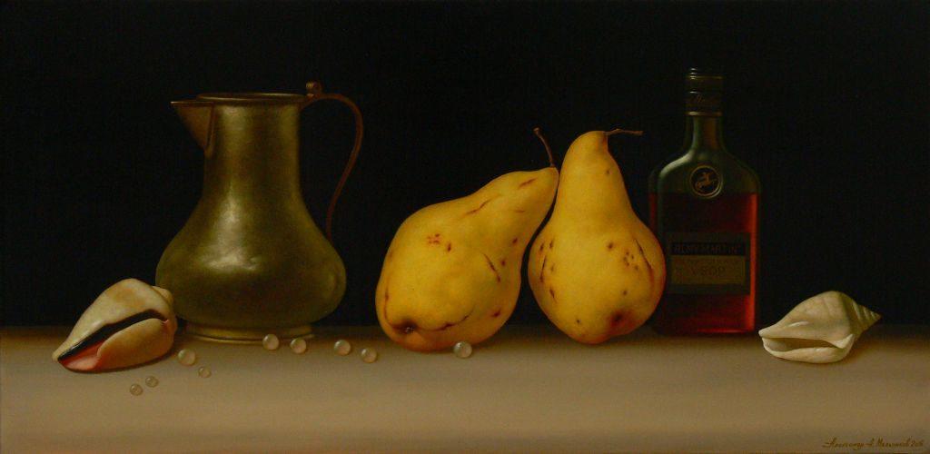 Натюрморт з грушами