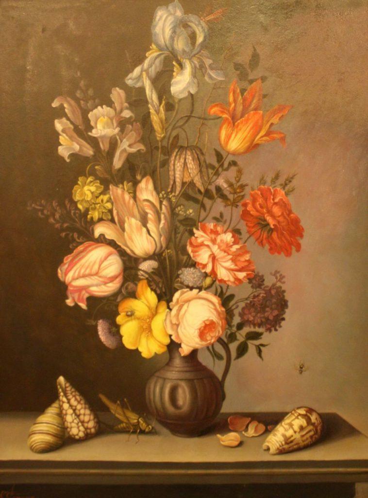 Квіти і мушлі