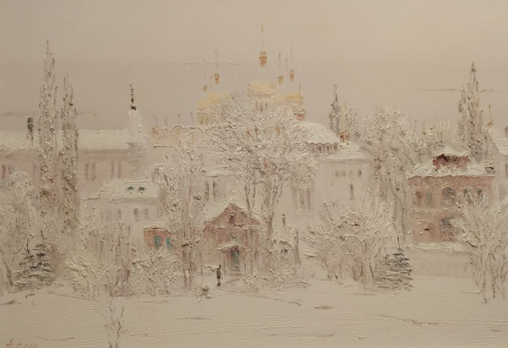 Snow covered Lavra
