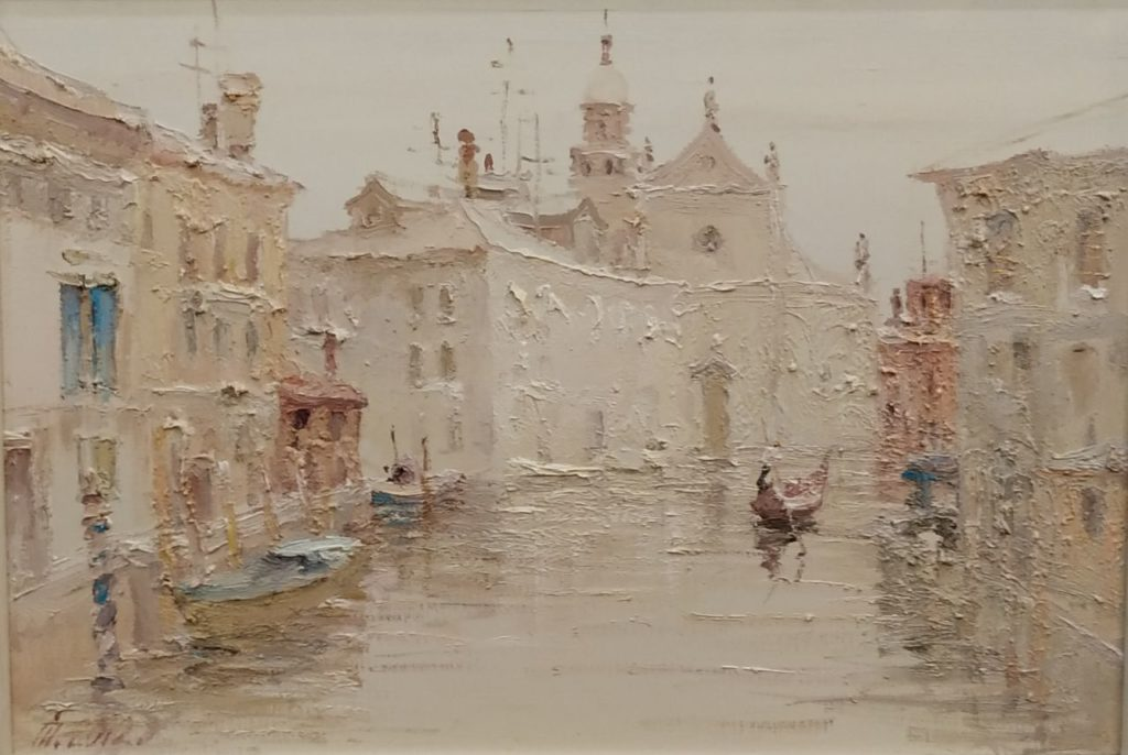 On the Canal. Venice.