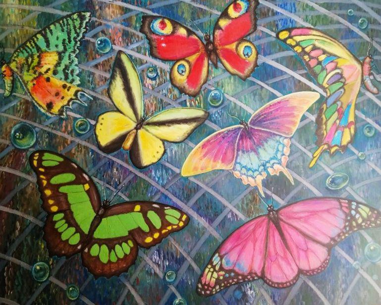 Метелики серед крапель