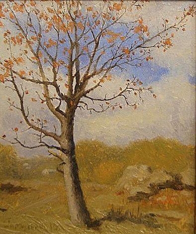 Осіннє деревце