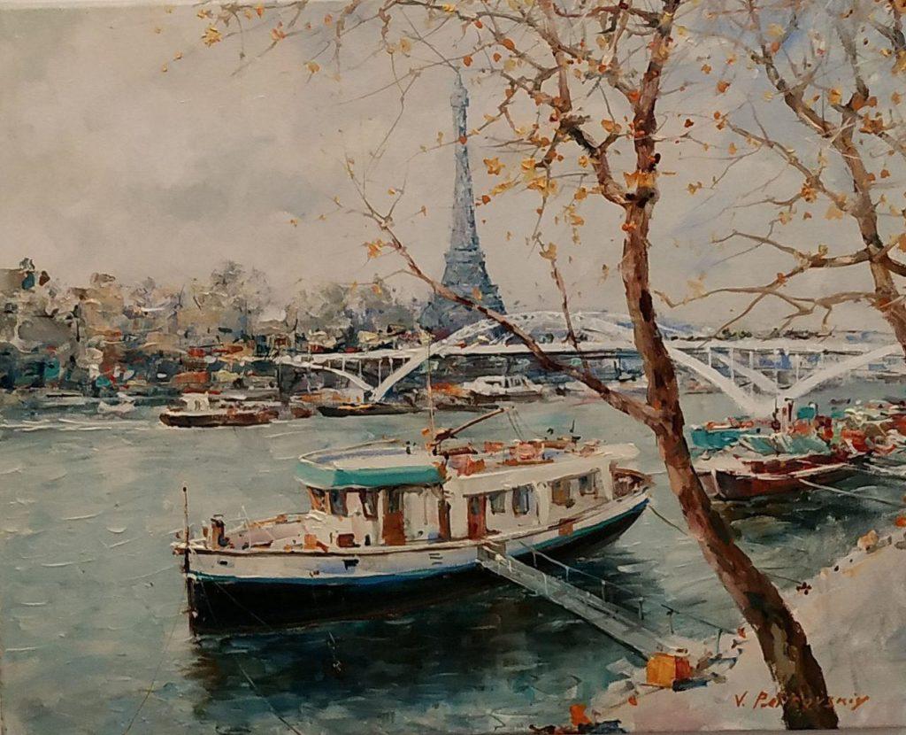 Сена. Париж