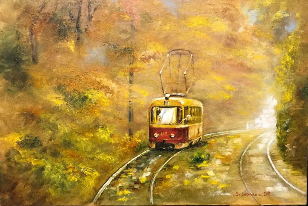 Трамвай I. Пуща-Водиця