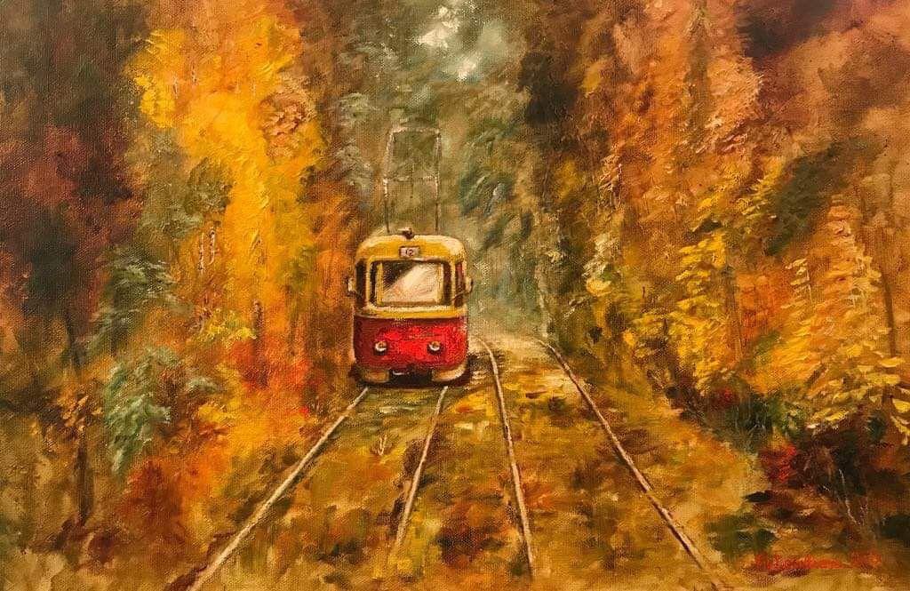 Трамвай II. Пуща-Водиця