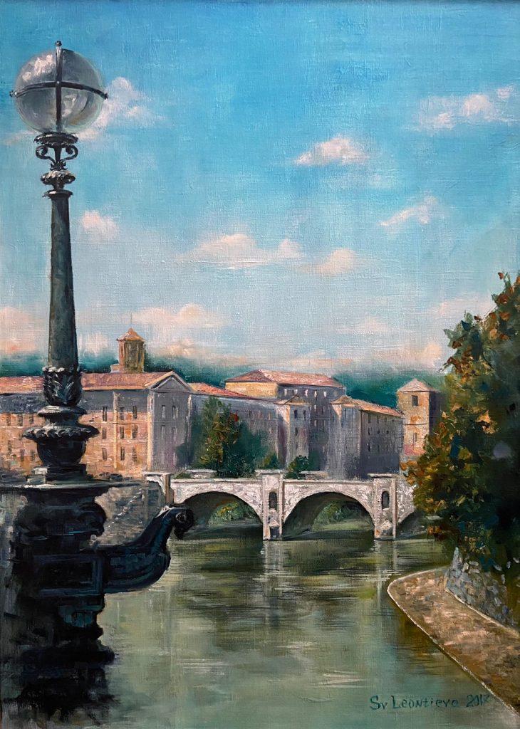 Трішки Риму. Міст через Тибр