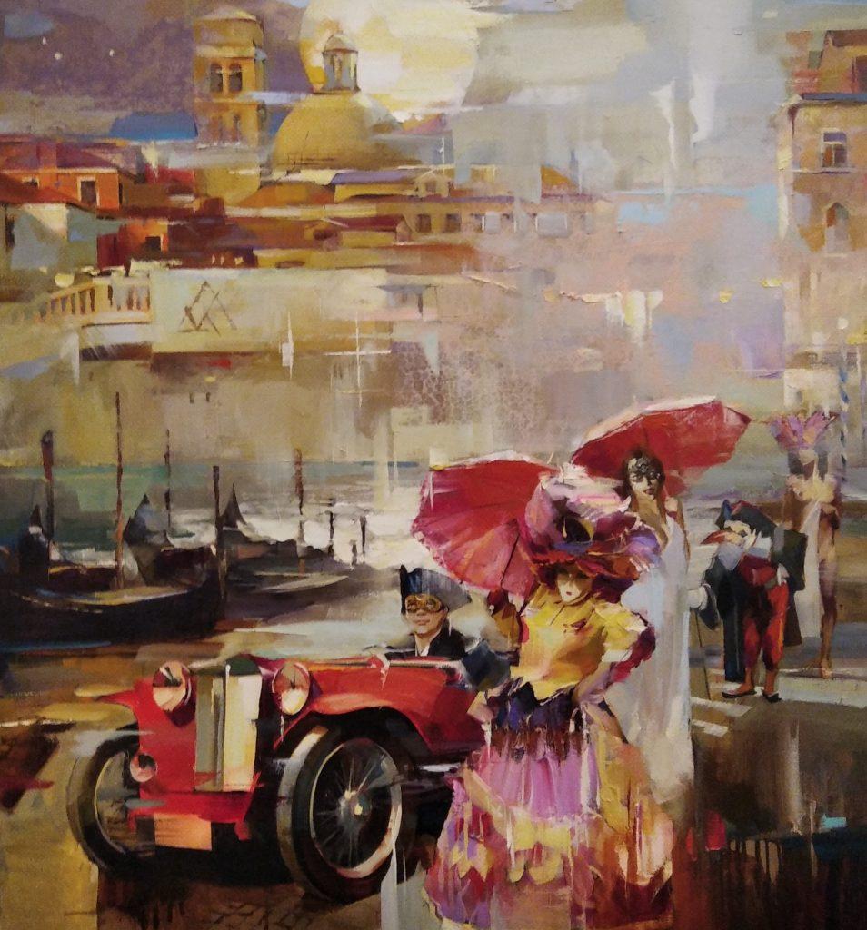 Романтичний вечір у Венеції