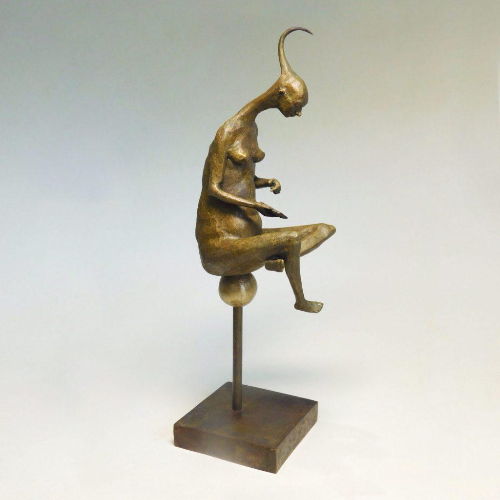 A Princess, bronze sculpture, limited edition